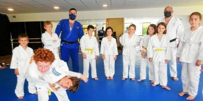 Image de l'actu 'Trévou-Tréguignec. Les enfants de moins de 10 ans ont repris le judo'
